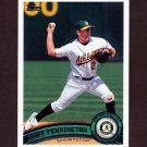2011 Topps Baseball #353 Cliff Pennington - Oakland Athletics