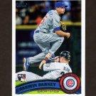 2011 Topps Baseball #347 Darwin Barney RC - Chicago Cubs