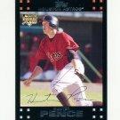 2007 Topps Update Baseball #160 Hunter Pence RC - Houston Astros