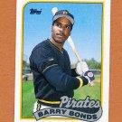 1989 Topps Baseball #620 Barry Bonds - Pittsburgh Pirates Ex