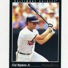 1993 Pinnacle Baseball #020 Cal Ripken - Baltimore Orioles