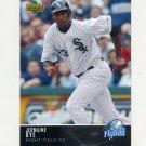 2005 Upper Deck Flyball Baseball #193 Jermaine Dye - Chicago White Sox