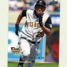 2008 Upper Deck Baseball #330 Nyjer Morgan RC - Pittsburgh Pirates