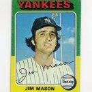 1975 Topps Baseball #136 Jim Mason - New York Yankees