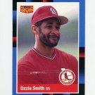 1988 Donruss Baseball Bonus MVP's #BC22 Ozzie Smith - St. Louis Cardinals Ex