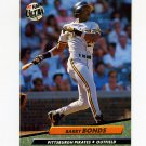 1992 Ultra Baseball #251 Barry Bonds - Pittsburgh Pirates