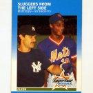 1987 Fleer Baseball #638 Don Mattingly / Darryl Strawberry