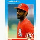 1987 Fleer Baseball #308 Ozzie Smith - St. Louis Cardinals