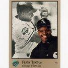 1992 Studio Baseball #159 Frank Thomas - Chicago White Sox