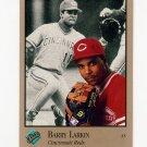 1992 Studio Baseball #023 Barry Larkin - Cincinnati Reds