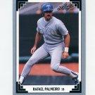 1991 Leaf Baseball #347 Rafael Palmeiro - Texas Rangers