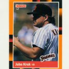 1988 Donruss Baseball's Best #245 John Kruk - San Diego Padres