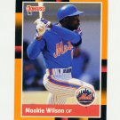 1988 Donruss Baseball's Best #208 Mookie Wilson - New York Mets