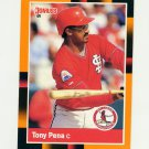 1988 Donruss Baseball's Best #156 Tony Pena - St. Louis Cardinals