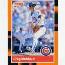 1988 Donruss Baseball's Best #082 Greg Maddux - Chicago Cubs
