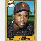 1987 Topps Baseball #637 Bip Roberts RC - San Diego Padres