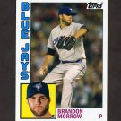 2012 Topps Archives Baseball #195 Brandon Morrow - Toronto Blue Jays