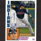 2012 Topps Archives Baseball #174 Asdrubal Cabrera - Cleveland Indians