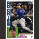 2012 Topps Archives Baseball #157 Carlos Gonzalez - Colorado Rockies