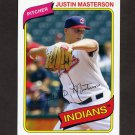 2012 Topps Archives Baseball #147 Justin Masterson - Cleveland Indians