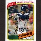 2012 Topps Archives Baseball #137 Jason Heyward - Atlanta Braves