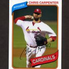 2012 Topps Archives Baseball #134 Chris Carpenter - St. Louis Cardinals