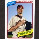 2012 Topps Archives Baseball #123 Ryan Vogelsong - San Francisco Giants