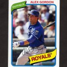 2012 Topps Archives Baseball #106 Alex Gordon - Kansas City Royals