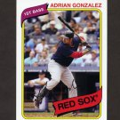 2012 Topps Archives Baseball #101 Adrian Gonzalez - Boston Red Sox