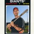 2012 Topps Archives Baseball #099 Brandon Belt - San Francisco Giants