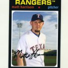 2012 Topps Archives Baseball #093 Matt Harrison - Texas Rangers