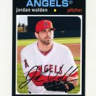 2012 Topps Archives Baseball #092 Jordan Walden - Los Angeles Angels