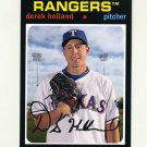 2012 Topps Archives Baseball #064 Derek Holland - Texas Rangers