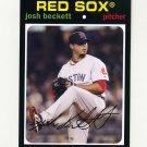 2012 Topps Archives Baseball #057 Josh Beckett - Boston Red Sox