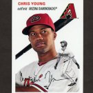 2012 Topps Archives Baseball #023 Chris Young - Arizona Diamondbacks