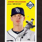 2012 Topps Archives Baseball #021 Jeremy Hellickson - Tampa Bay Rays