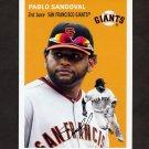 2012 Topps Archives Baseball #012 Pablo Sandoval - San Francisco Giants