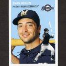 2012 Topps Archives Baseball #010 Ryan Braun - Milwaukee Brewers