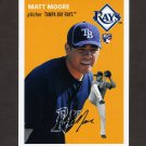 2012 Topps Archives Baseball #008 Matt Moore RC - Tampa Bay Rays
