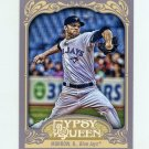 2012 Topps Gypsy Queen Baseball #298 Brandon Morrow - Toronto Blue Jays