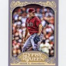 2012 Topps Gypsy Queen Baseball #287 Daniel Hudson - Arizona Diamondbacks