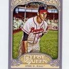 2012 Topps Gypsy Queen Baseball #265 Warren Spahn - Milwaukee Braves
