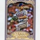 2012 Topps Gypsy Queen Baseball #261 John Smoltz - Atlanta Braves