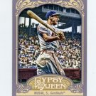 2012 Topps Gypsy Queen Baseball #249 Stan Musial - St. Louis Cardinals