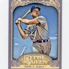 2012 Topps Gypsy Queen Baseball #233 Duke Snider - Brooklyn Dodgers