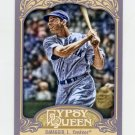2012 Topps Gypsy Queen Baseball #232A Joe DiMaggio - New York Yankees