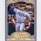 2012 Topps Gypsy Queen Baseball #230A Evan Longoria - Tampa Bay Rays
