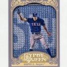 2012 Topps Gypsy Queen Baseball #206 David Murphy - Texas Rangers