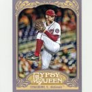 2012 Topps Gypsy Queen Baseball #184A Stephen Strasburg - Washington Nationals