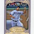 2012 Topps Gypsy Queen Baseball #157A Nelson Cruz - Texas Rangers